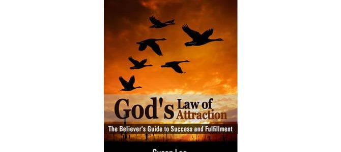 God's Law of Attraction Book Cover by Susan Lee for Blog