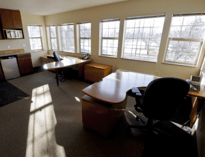 New Office Suite with Foothills View