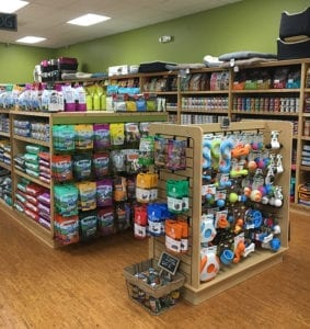 Dog treats and toys at Your Healthy Pet