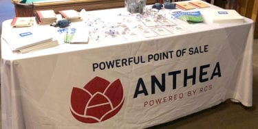 Anthea table at Cannabis Workshop